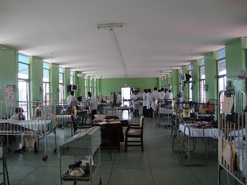 hospital ward,