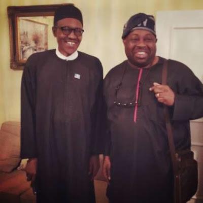 dele momodu visit's president buhari,
