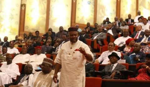godswill akpabio in the senate