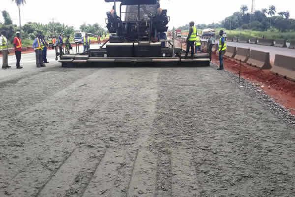 lagos ibadan expressway under construction,