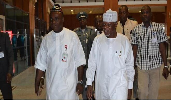 hameed ali at the senate without uniform,