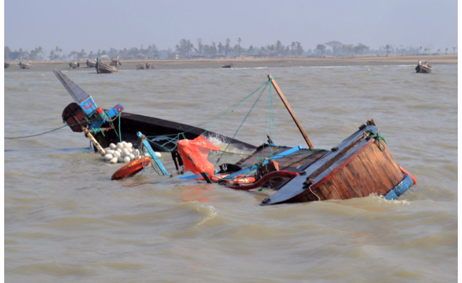 Canoe mishap