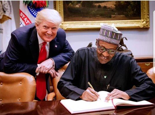 Buhari-meets-Trump