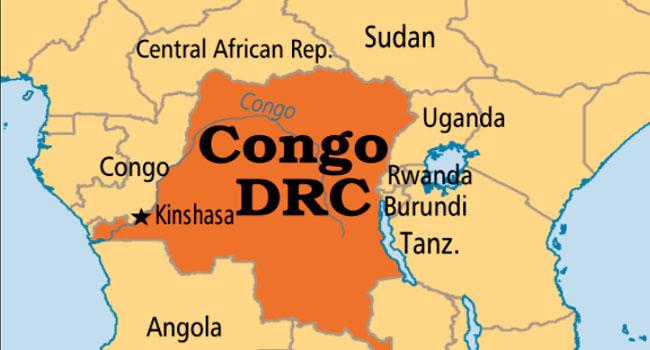 DR-Congo map