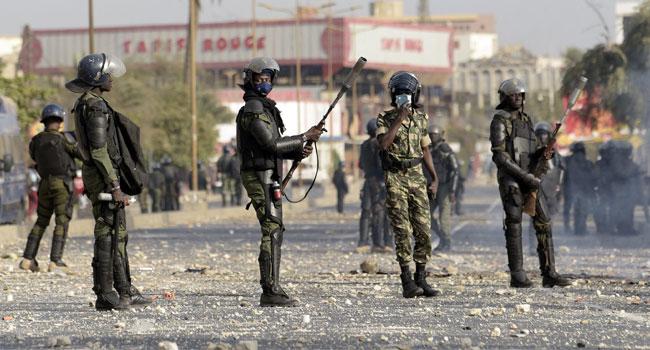 Senegal-Protest